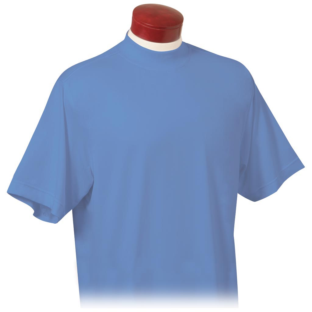 Monterey Club Mens Dry Swing Short Sleeve Mock Neck Jersey